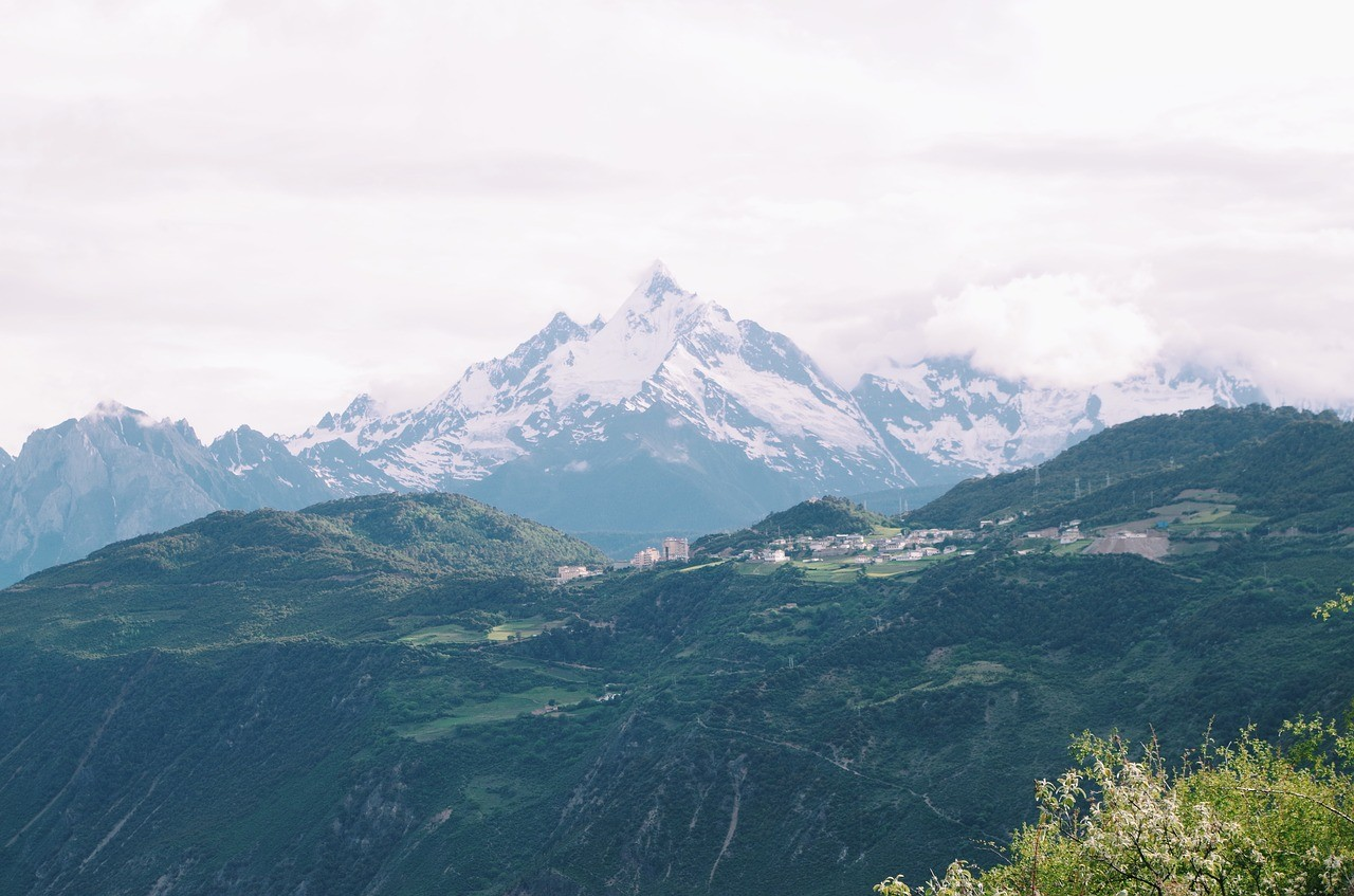 Beautiful places in China: Mt Everest