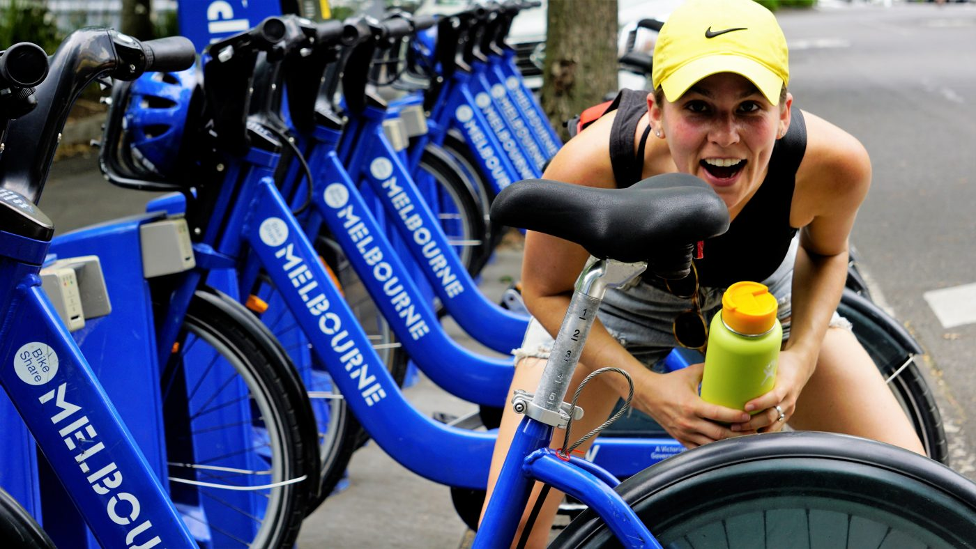 Staying Fit While Traveling: bicycles