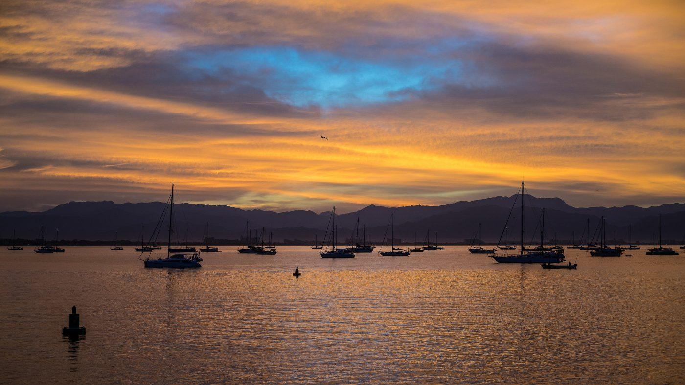 What to do in Darwin: sunset of Darwin