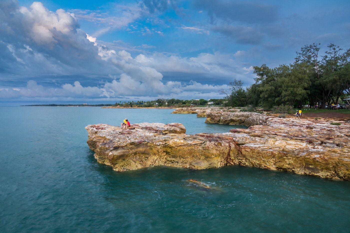What to do in Darwin: coast line of Darwin