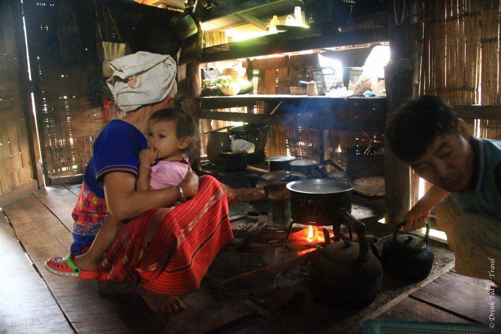 Cultural experiences in Thailand 3 - remote village