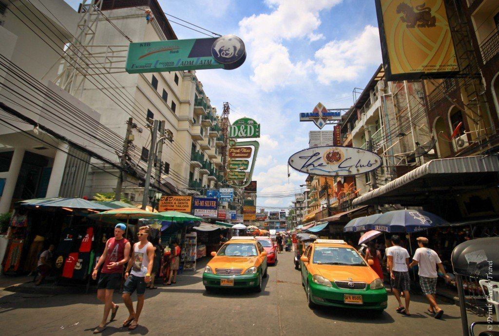 Khao San Road, Bangkok, Thailand