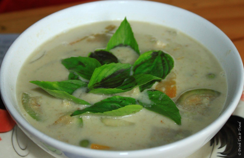 Green Curry, Thai Farm Cooking School