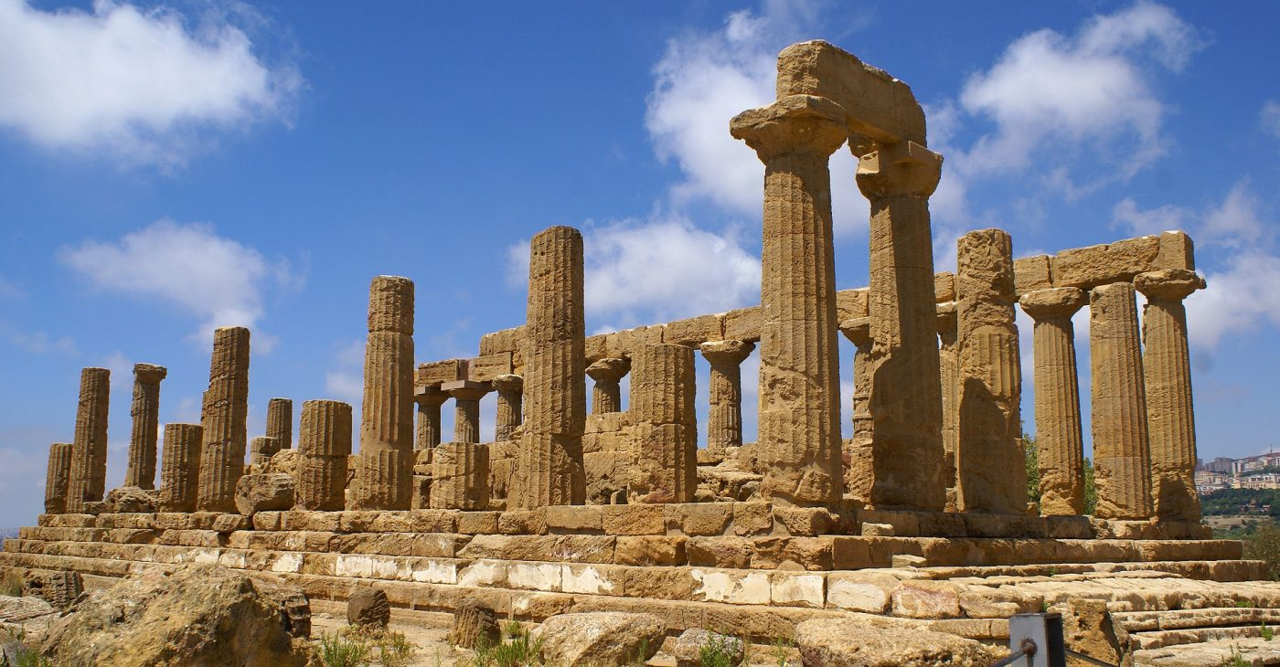 Valley of the Temples are among some of the things to do in Sicily