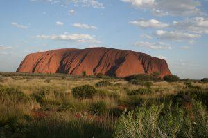 Uluru, part of a great Australia Vacation
