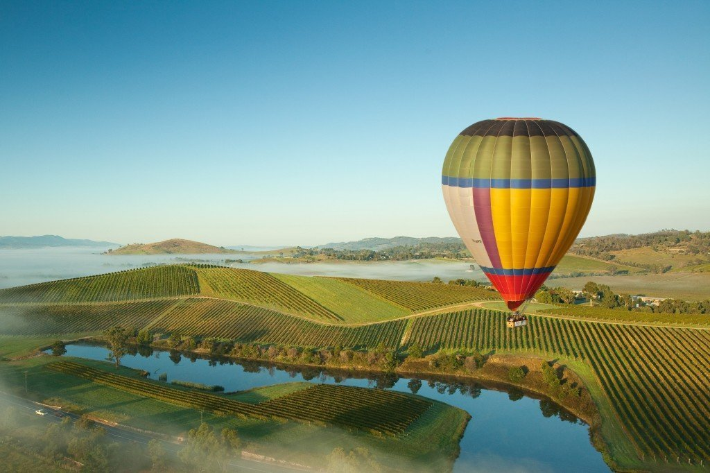 Hot Ari Ballooning in Yarra Valley