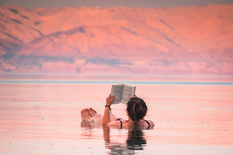 Workaway: Enjoying and relaxing in the water
